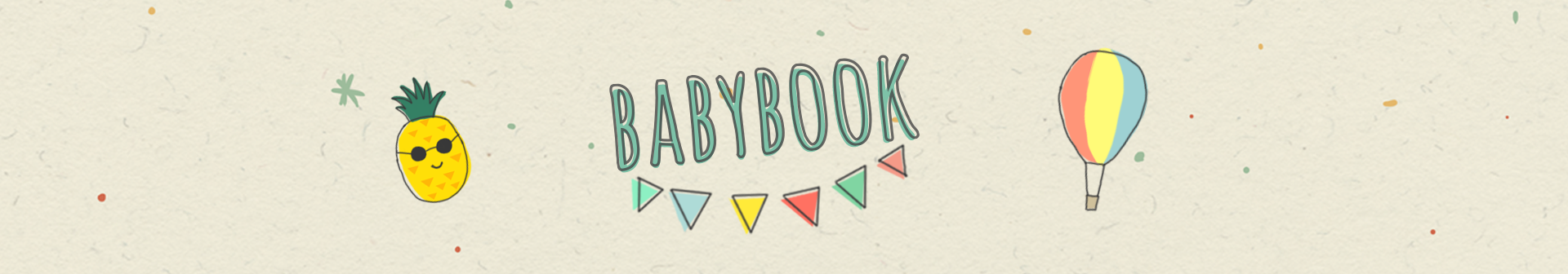 Cover babybook