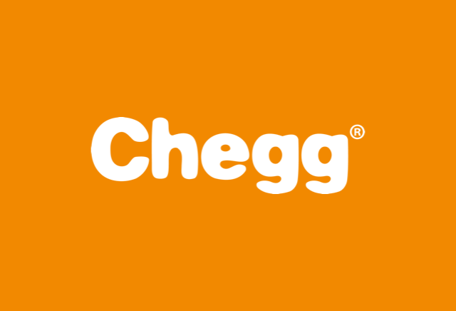 Chegg logo pojects